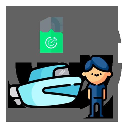 Rastreador para barco, lancha e jetski - monitoramento e rastreamento para barcos, lanchas e jetskis